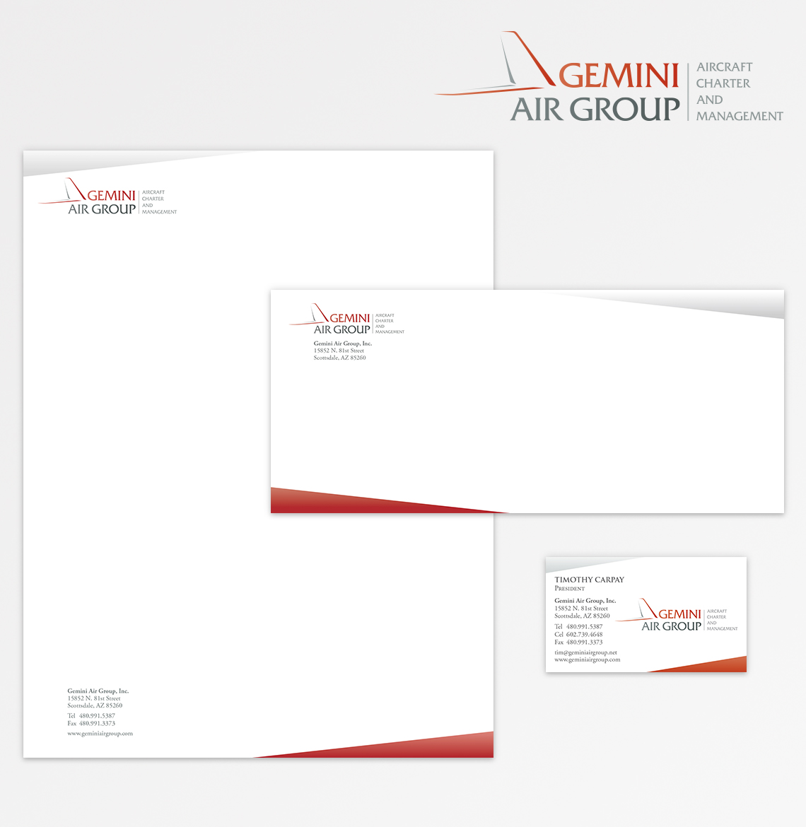 Gemini Air Group Identity Package